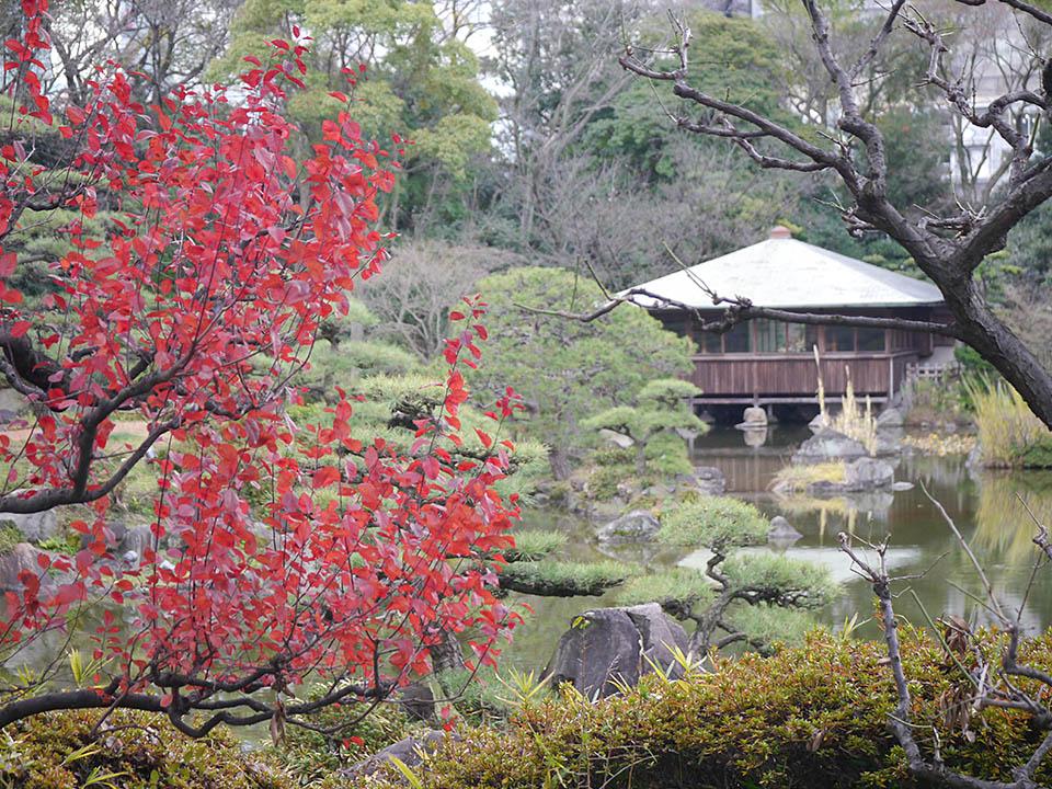 慶沢園(日本庭園)